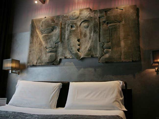 Tête de lit chambre supérieure