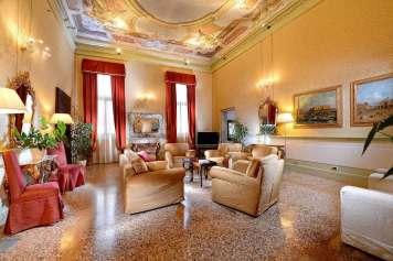 Ruzzini Palace Hotel Venise (Royal Suite, le salon)