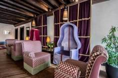 Aqua Palace Hotel de luxe Venise : salon lounge