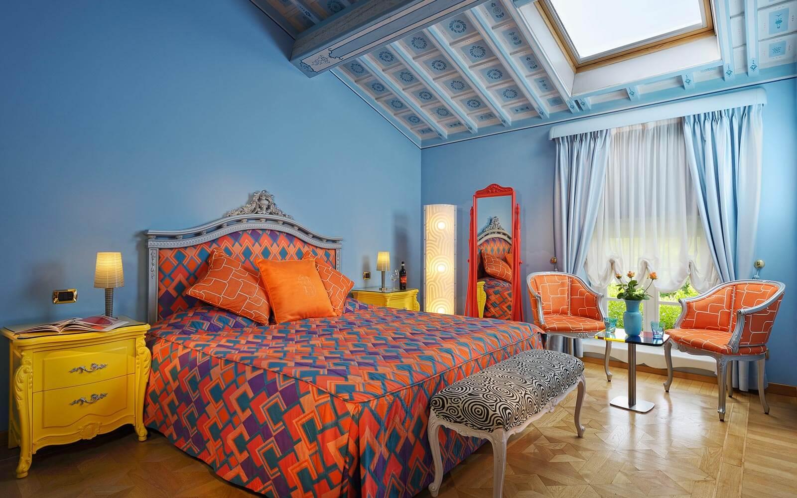 Chambre de l'hôtel Byblos, San Pietro In Cariano Verone, Italie