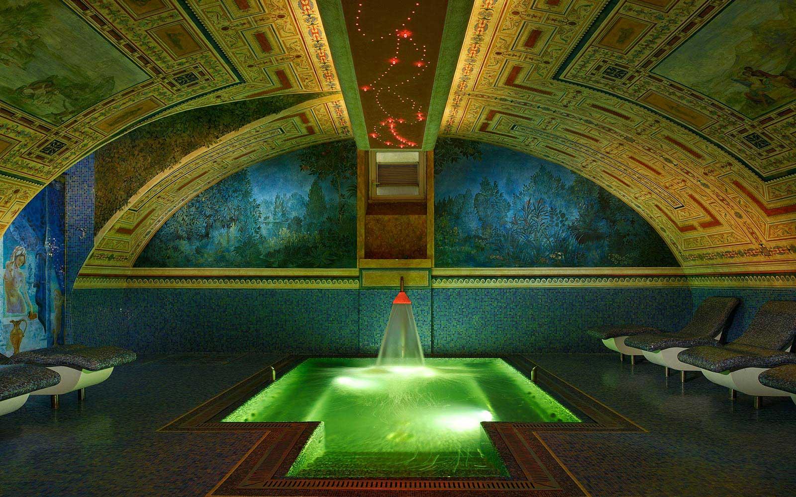 Byblos Art Hotel Villa Amistà Verone Italie : SPA