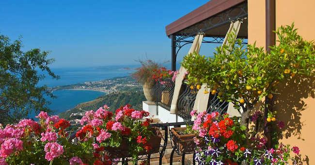 Villa Ducale boutique hotel de luxe Taormine Sicile, Italie