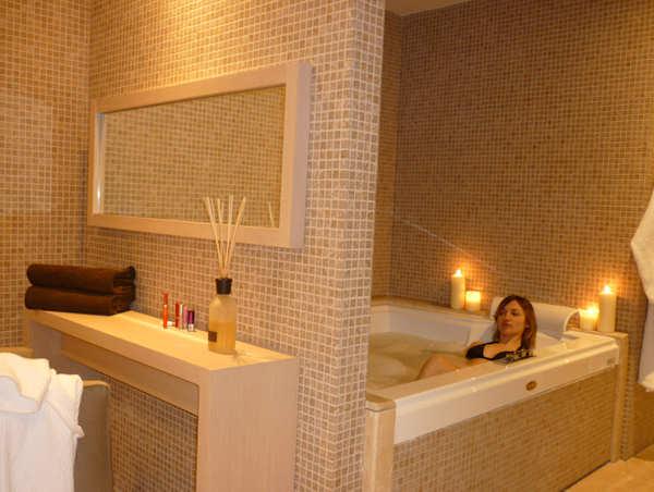 Salle de bain de la Suite Spa