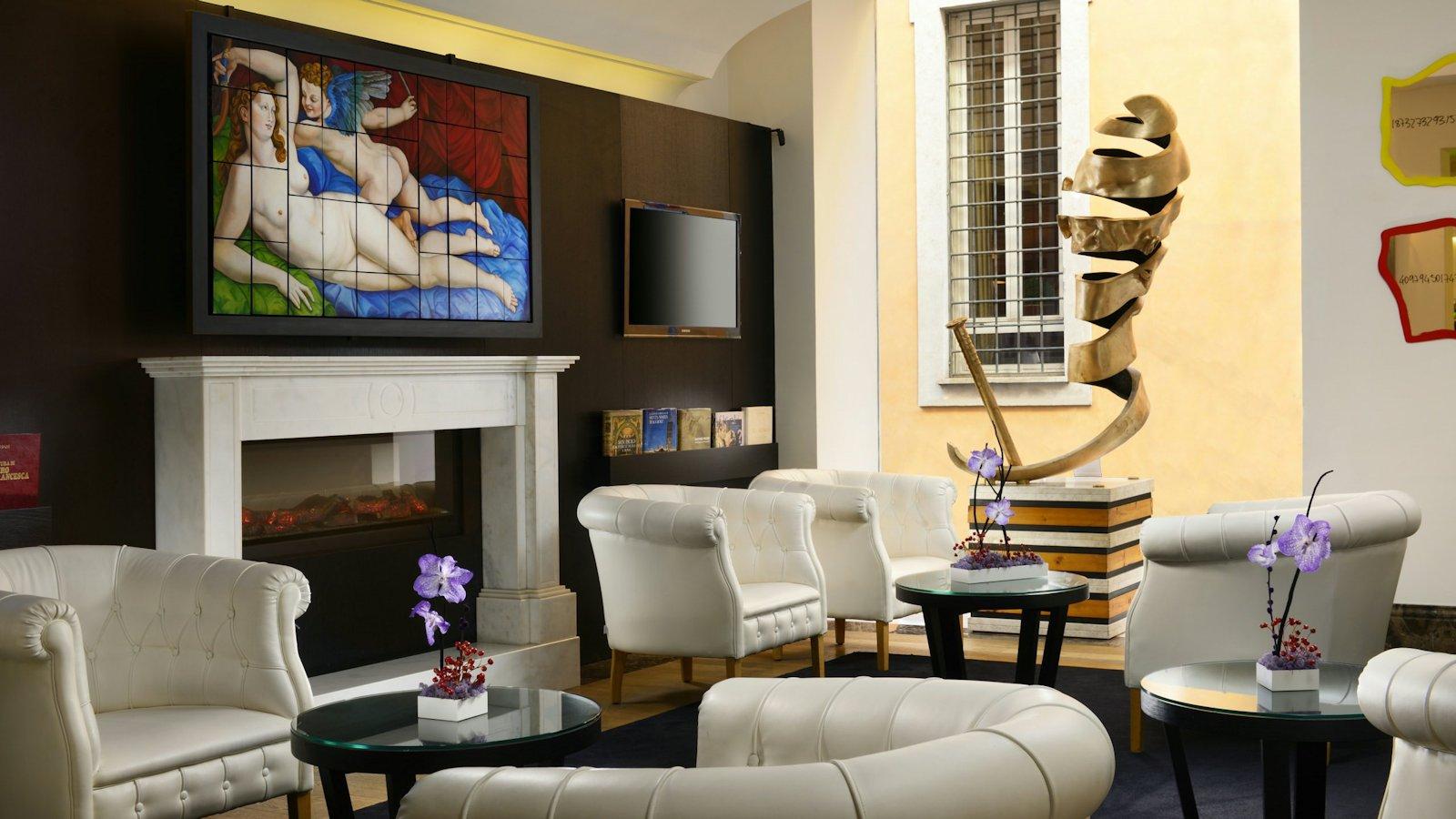 Salon hôtel The First Arte Roma (Italie)