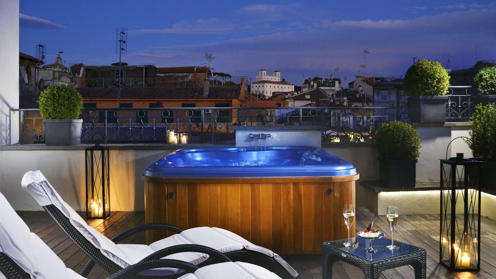 Jacuzzi Suite sur terrasse privative
