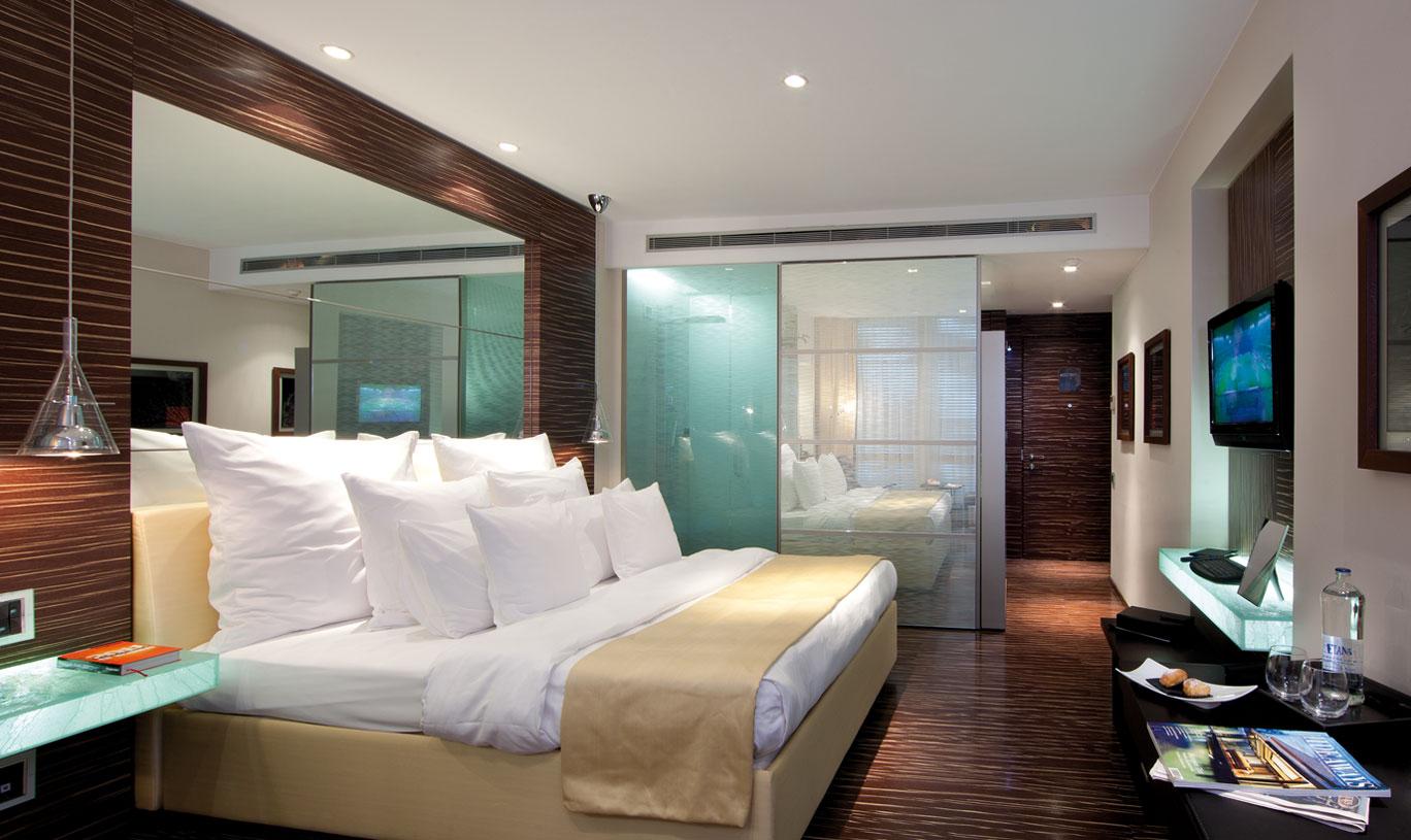 Hotel Romeo Naples, chambre supérieure avec vue sur la ville