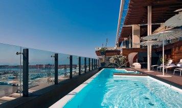 Romeo hotel design Naples, piscine