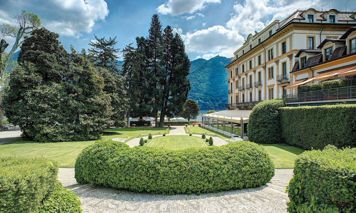Villa d'Este hotel de luxe lac de Come : Parc et jardins