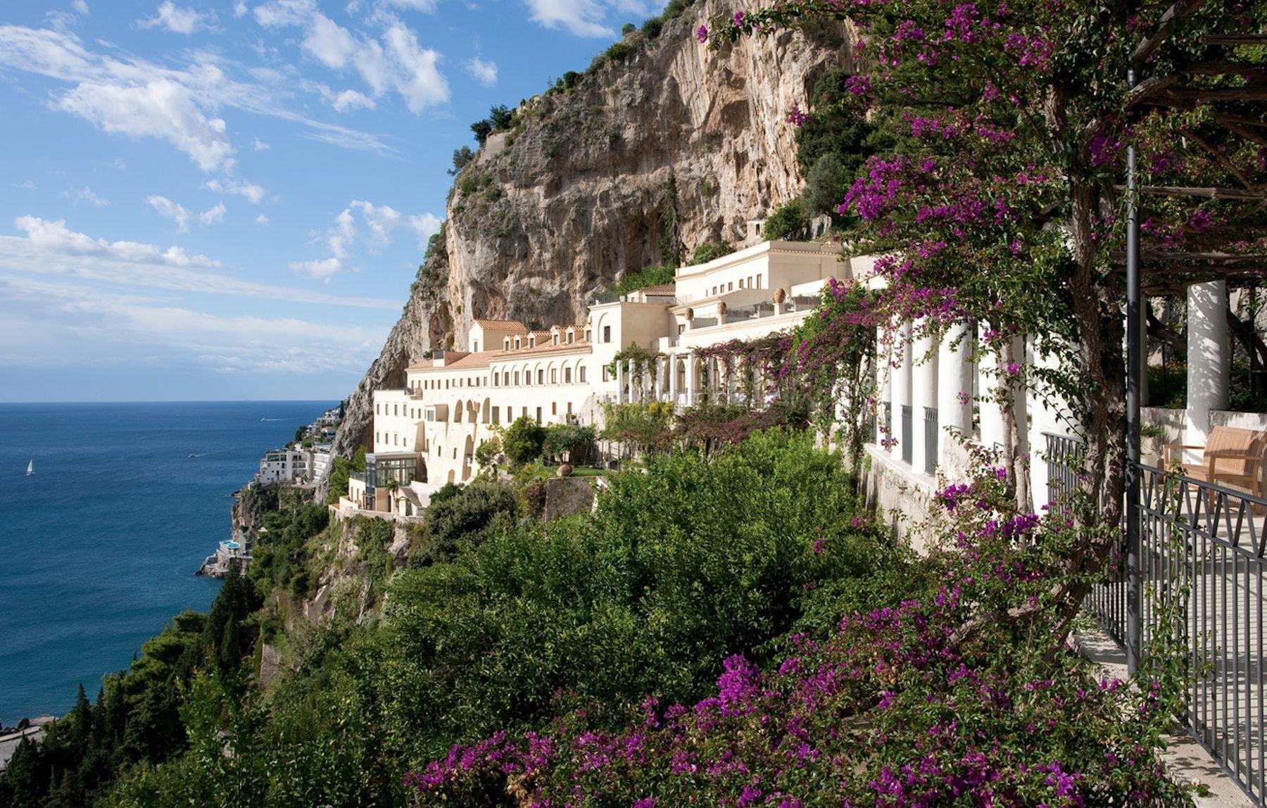 Hotel de luxe c te amalfitaine grand hotel convento amalfi for Convento di amalfi