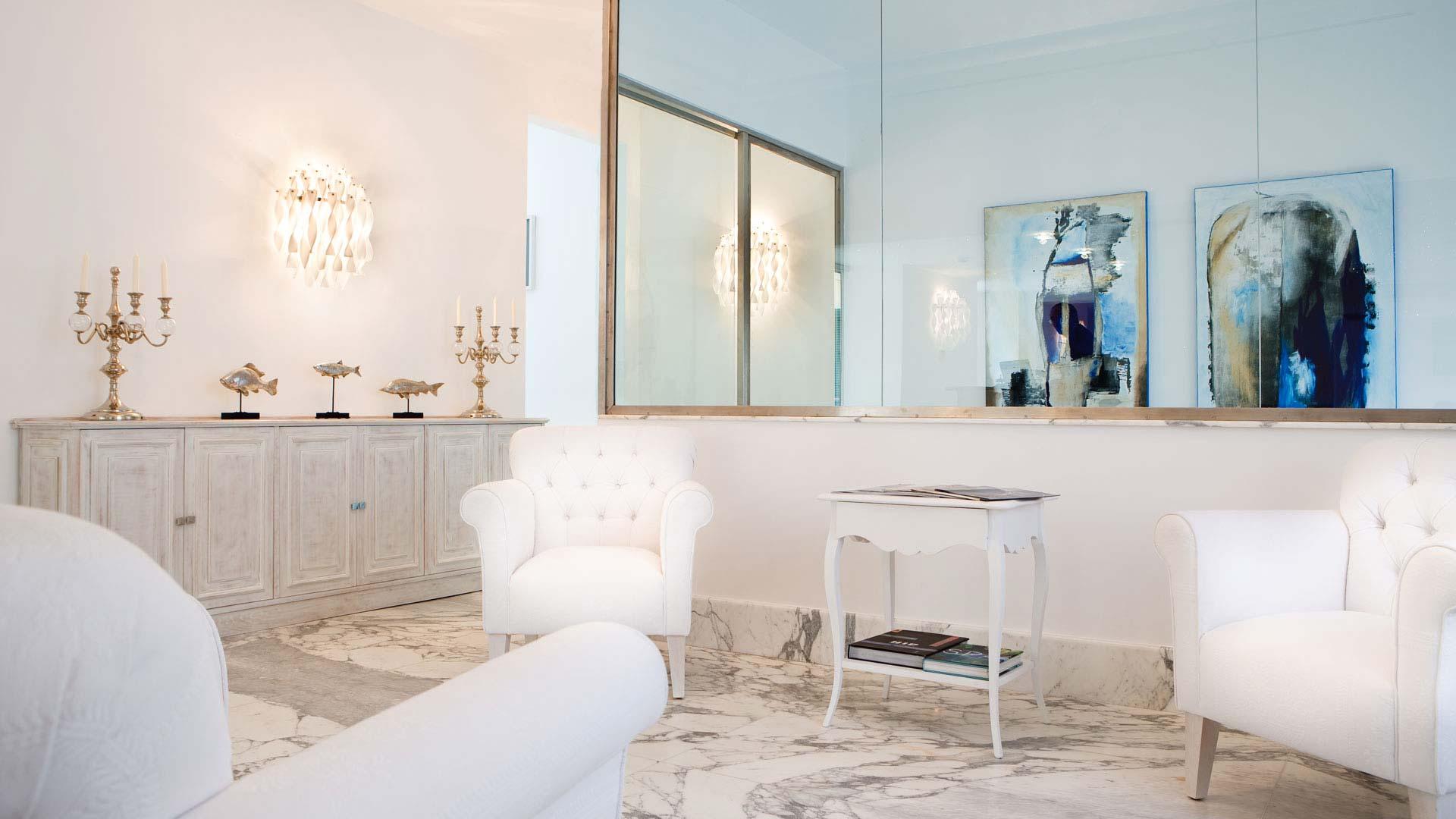 La Ciliegina Lifestyle Hotel : salon