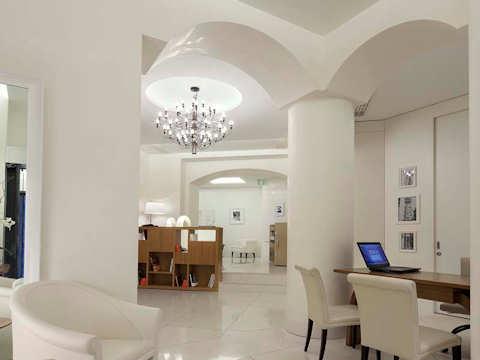 Salon d'accueil Maison Milano Una Esperienze