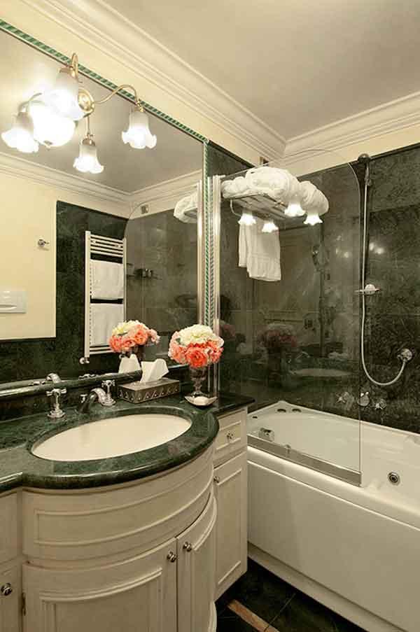 Petit Palais hotel Milan centre : Salle de bain