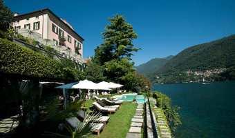 Relais Villa Vittoria, boutique hôtel sur les rives du lac de Côme en Italie