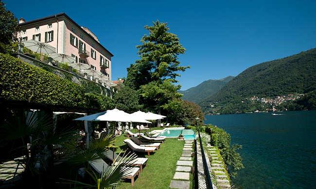 Boutique h tel lac de c me italie relais villa vittoria - Chambre d hote de charme lac de come ...