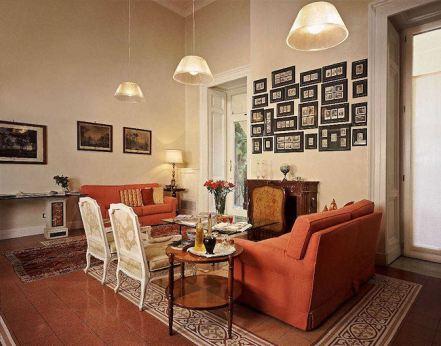 Costantinopoli 104 hotel de charme à Naples, Italie : Salon
