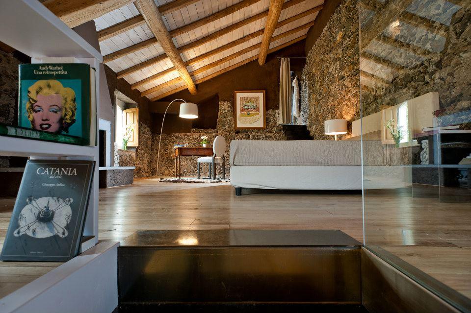 Monaci delle Terre Nere, hotel de charme en Sicile : Amabile Estate Suite
