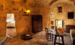Le Grotte Della Civita, Hotel de charme Matera Italie : Grotta 13