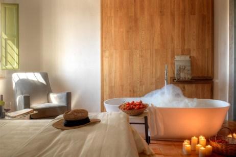 Hotel Torre Fiore : chambre salle de bain