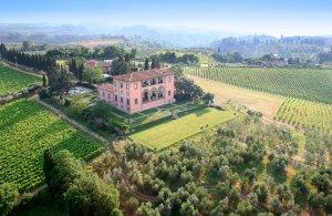 Villa Mangiacane, hôtel de luxe en Toscane près de Florence