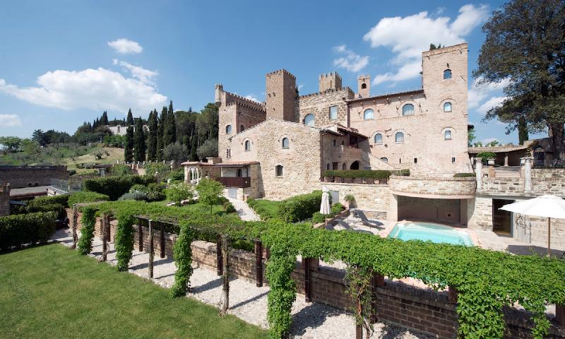 Castello di Monterone, hotel de charme près de Pérouse en Ombrie, Italie