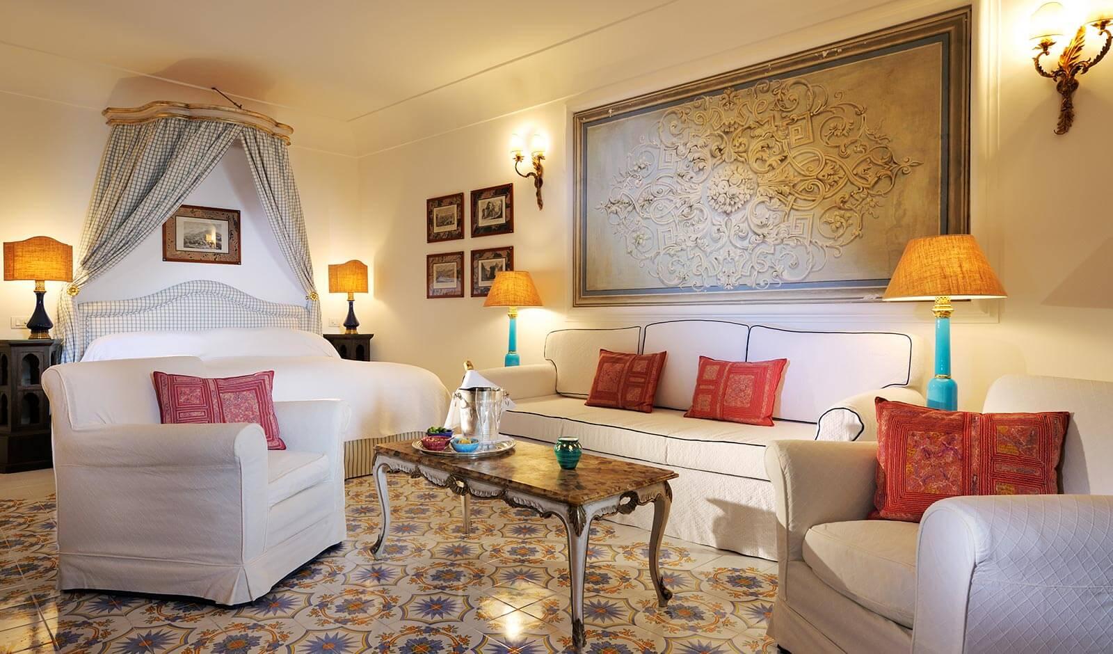 Une Suite de l'hôtel Sirenuse (Positano, Italie)