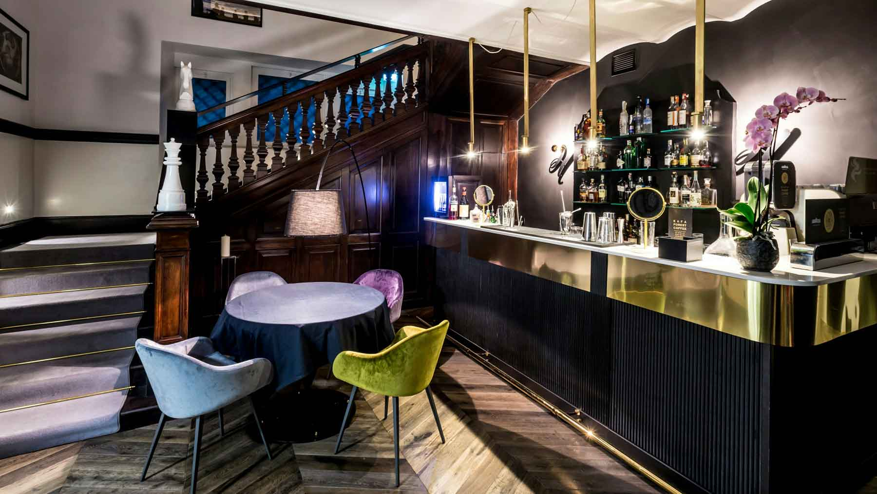 The H'All Tailor Suite Boutique Hotel Rome Italie : Le Bar d'All'Oro