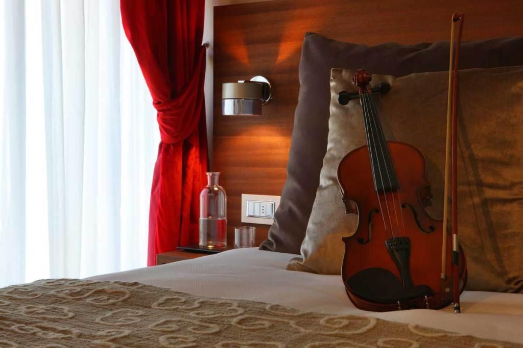 Une chambre de l'hôtel Milano Scala