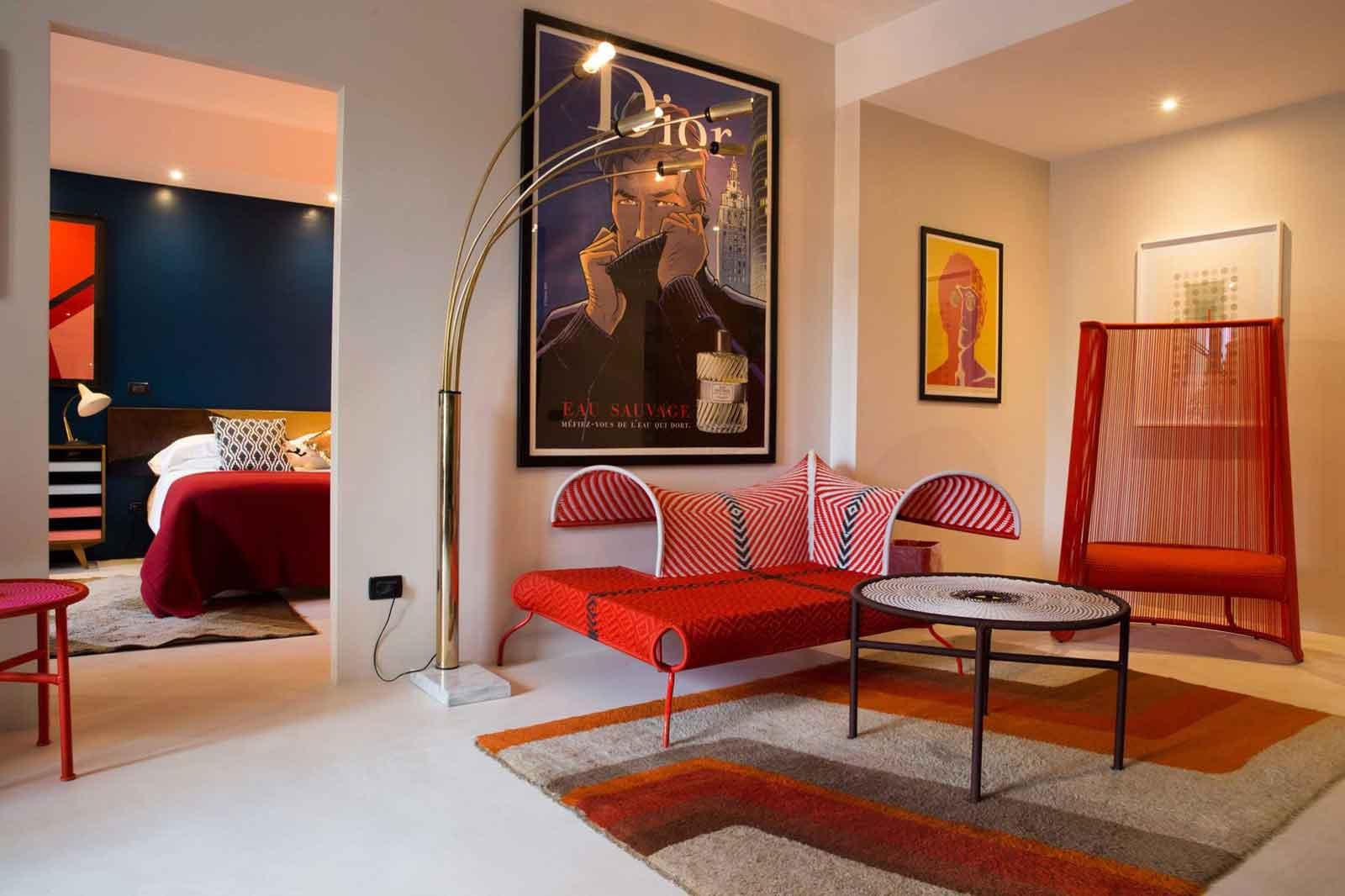 Hotel Vérone Italie : salon suite Up