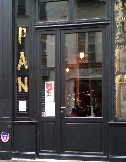 Devanture Restaurant Pan