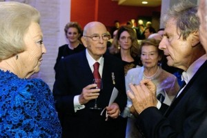 Koningin Beatrix en Napolitano Uto ughi