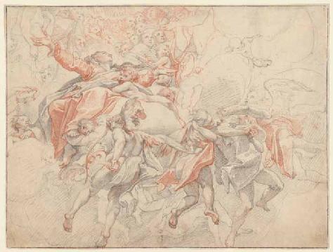 Zuccari – Tenhemelopneming van Maria