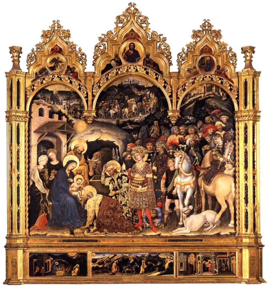 Aanbidding-der-Wijzen-Gentile-da-Fabriano