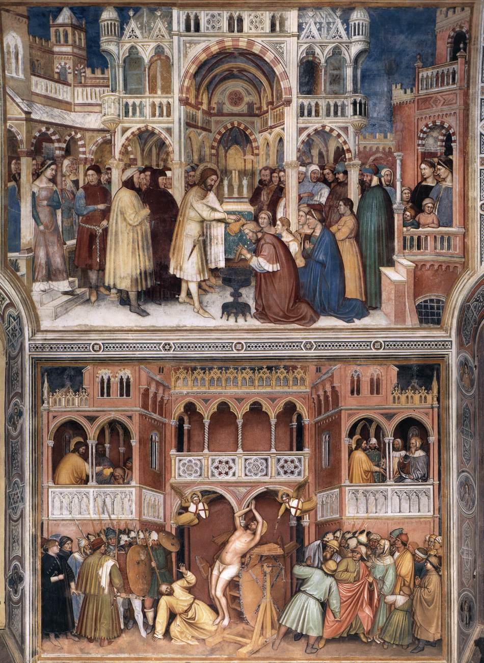 Altichiero da Zevio, 1378-84, Fresco, Oratorio di San Giorgio, Padua