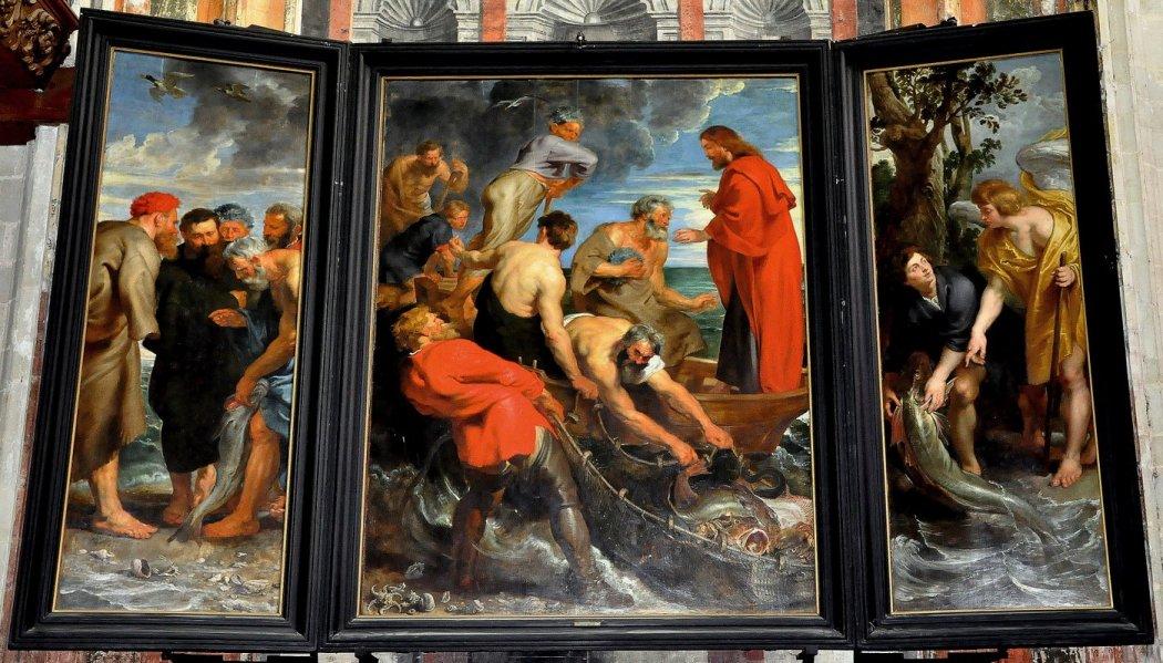 Peter Paul Rubens, Triptiek met de Wonderbaarlijke Visvangst, Mechelen