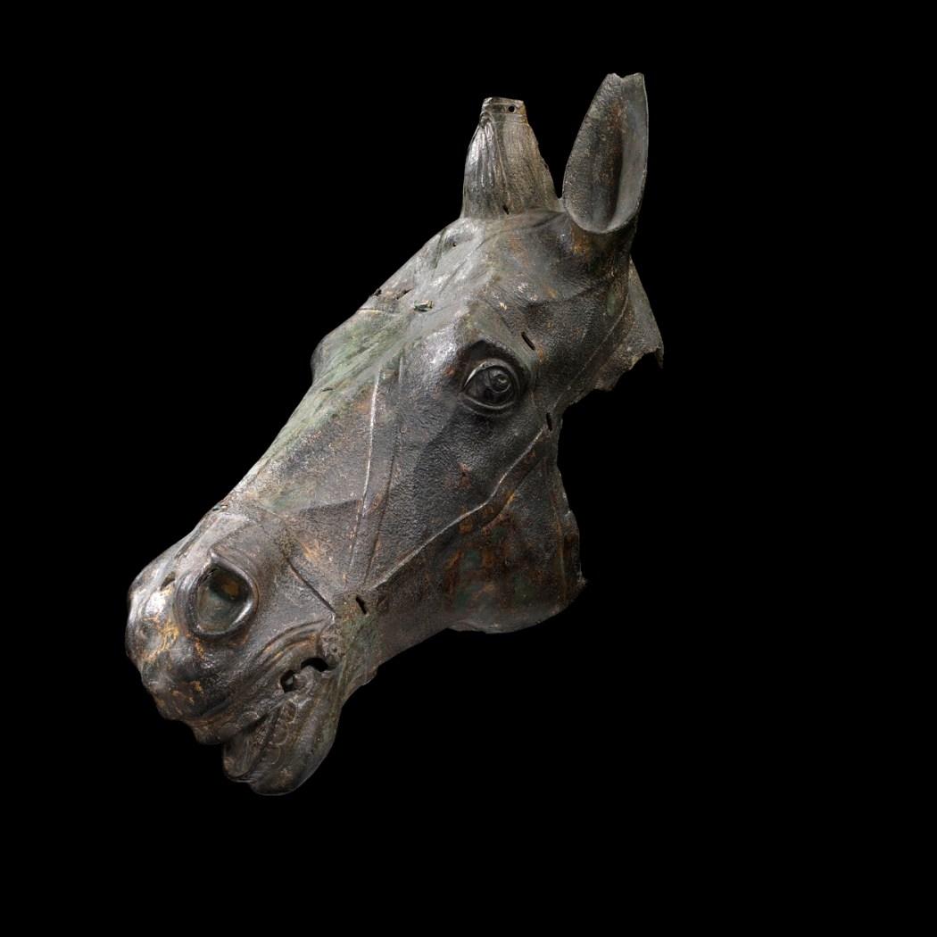 Paardenkop uit Augsburg