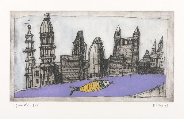© Aldo Rossi, The Goldfish, 1997, collectie Bonnefantenmuseum, © Eredi Aldo Rossi