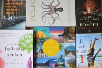 De 25 mooiste boeken voor Italië liefhebbers!