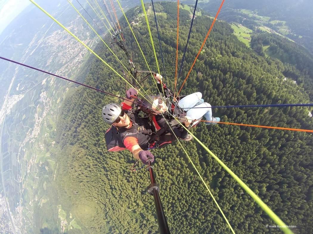 Paragliden in Zuid-Tirol