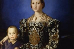 Bronzino's portret van Eleonora di Toledo in de Uffizi