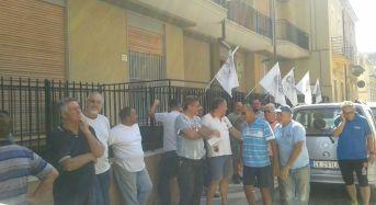 CNA dopo il sit-in per protestare contro la chiusura della sede cittadina di Riscossione Sicilia