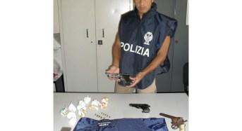 Siracusa, la polizia di stato arresta un uomo per detenzione di armi e droga