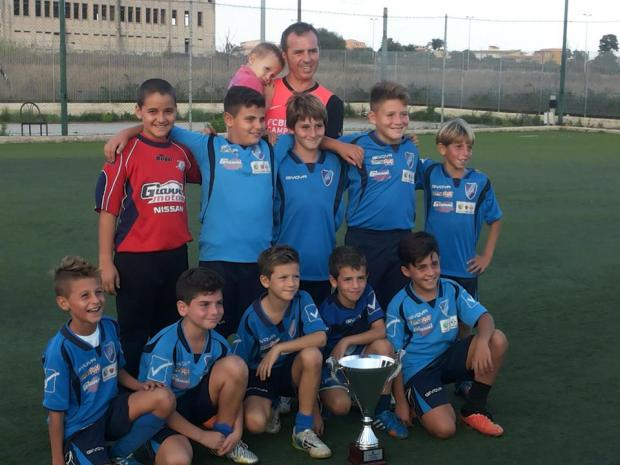 I pulcini dell'Asd Fair Play Comiso