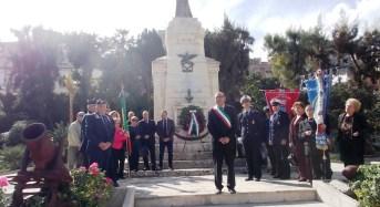 Celebrata anche a Canicattini Bagni (Sr) la ricorrenza del 4 Novembre
