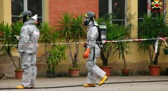 Modena, esalazioni di vapori di ammoniaca anidra in un comprensorio produttivo del comune di Savignano sul Panaro