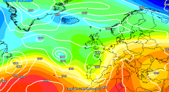 Maltempo: allerta per venti forti, temporali e neve. Criticità arancione su Sicilia, Campania, Calabria, Marche , Abruzzo e Molise