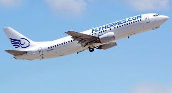 """Aeroporto Comiso, aggiornamenti voli. Flyhermes, """"tecnico"""" risolto. Oggi doppia turnazione di voli"""