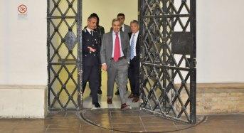 Carceri. Vice presidente senato, Gasparri, visita penitenziario Regina Coeli di Roma con una delegazione Sappe