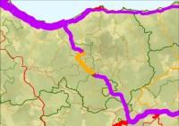 effetto di deviazione dalla tratta autostradale chiusa alla rete stradale circostante