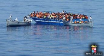 Soccorsi nel week end oltre 2.000 migranti