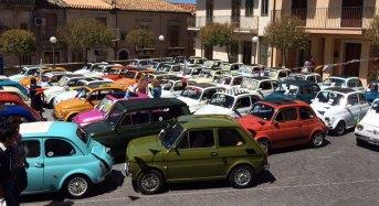 Successo per il quarto raduno in Fiat 500 tenutosi ieri a Chiaramonte Gulfi